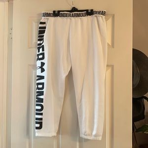 Under armour ankle length sweat pants